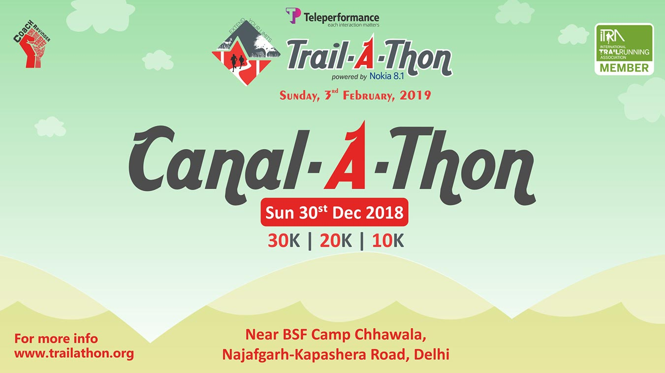 Trail-A-Thon 2019, Sunday, February 3 2019, Gurugram, Coach Ravinder Gurugram